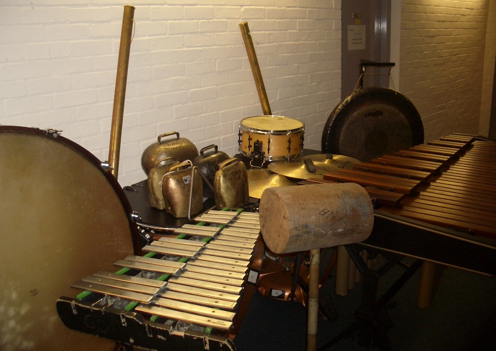 Percussion for Mahler's 6th Symphony