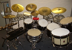 Large Drum Kit with Effects