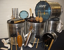 Set of Samba Equipment