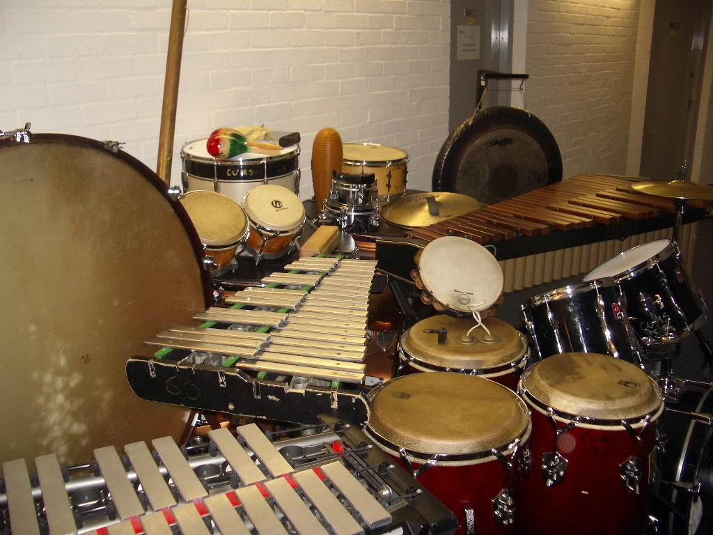 Percussion for West Side Story